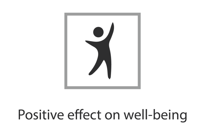 LifeMCC - Positive effect on well-being